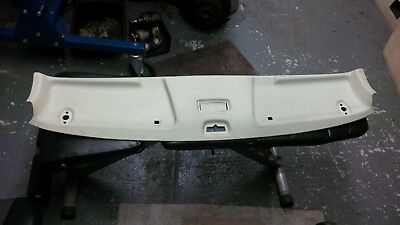 Mercedes W123 front sunvisor headlining panel cover cream