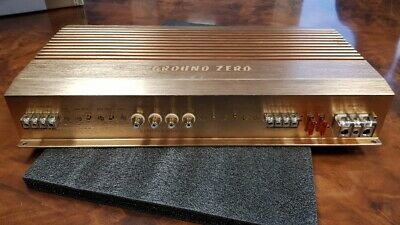 4 Kanal Endstufe Ground Zero GZPA Reference 4XS, OVP, GARANTIE, TOP High End