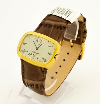 Vintage Tissot 2135 gold plated unisex mechanical Swiss made watch cal.FHF 69-21