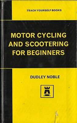 Motor cycling And Scootering for beginners  Handbook HB 1965