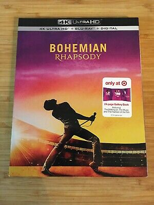 Bohemian Rhapsody (4K Ultra HD Disc ONLY + 24 pg Gallery Book) TARGET EXCLUSIVE!