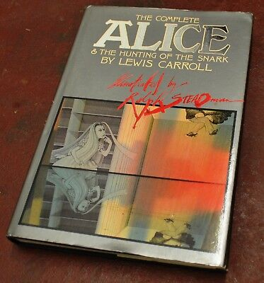 The Complete Alice & The Hunting of the Snark L. Carroll Ralph Steadman 1st Ed.