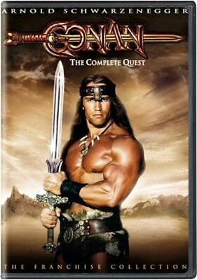 Conan The Complete Quest. DVD 2006. The Barbarian & Destroyer New Disc unplayed
