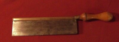 "Vintage W. Marples & Sons Gents Saw - 8"" Sheffield"