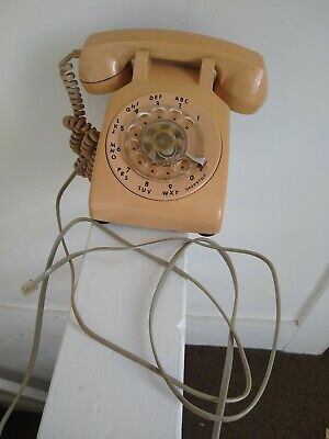 Terrific Vintage Itt Pink Rotary Dial Wall Phone Reconditioned Excellent Wiring Cloud Hisonuggs Outletorg