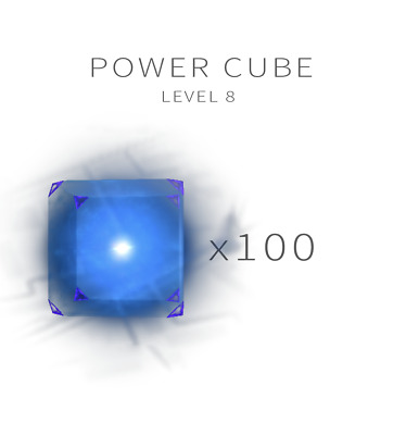 INGRESS - Power cube L8 - 100 pcs - Fast Delivery 24/7 reply
