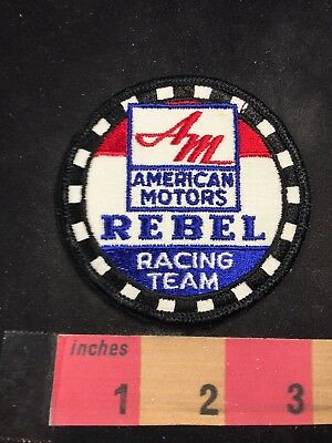 Car Race Patch AMERICAN MOTORS REBEL RACING TEAM 80NT