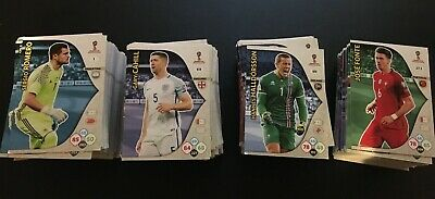 Panini Adrenalyn XL FIFA 2018 World Cup Russia Base Cards Choose Your Base Cards