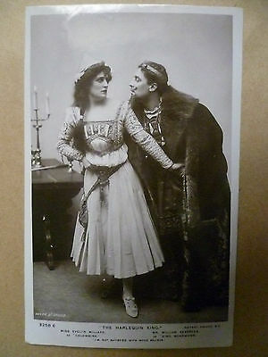 .Vintage Theatre RP Postcard: THE HARLEQUIN KING, no.3258 E
