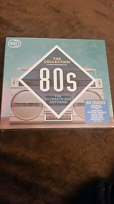 Various Artists - The Collection - Ultimate 80's Anthems (3CD 2016) NEW & SEALED