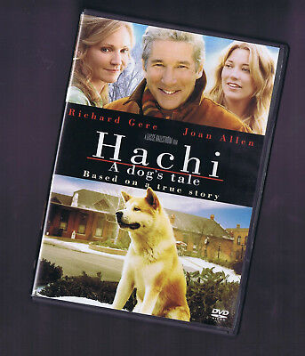 HACHI - A DOG'S TALE  (DVD)  RICHARD GERE JOAN ALLEN - very good