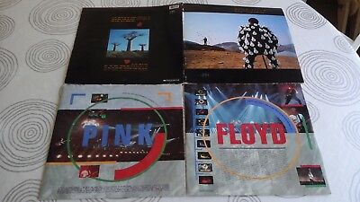 PINK FLOYD DELICATE SOUND OF THUNDER 2 X LP 1st PRESS RARE MADE PORTUGAL 1988