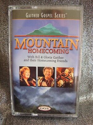 Gaither Gospel series Mountain Homecoming Cassette Tape Free Shipping