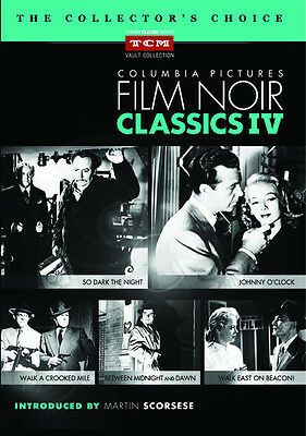 Columbia Pictures Film Noir Classics IV Collection 5-Disc DVD - Johnny O'Clock +