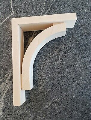 Contemporary Large maple Wood Corbel Bracket- Ornamental- Sleek Profile