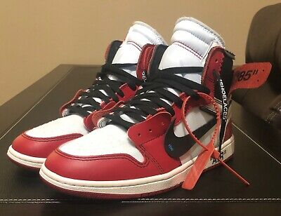 air jordan 1 chicago x off white stockx