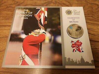 2010 UK five pound £5 Spirit of Britain CuNi Proof coin