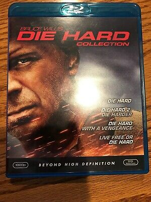 Die Hard: The Ultimate Collection (Blu-ray Disc, 2009, 4-Disc Set)
