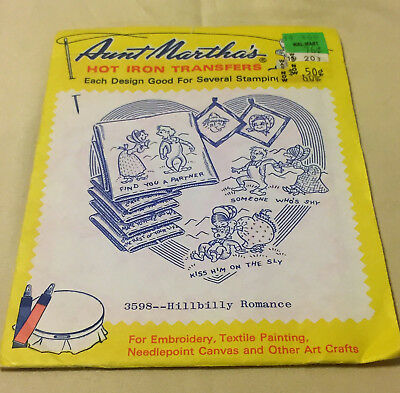 MYSTIC MERMAID & Sailor Aunt Martha's Hot Iron Embroidery