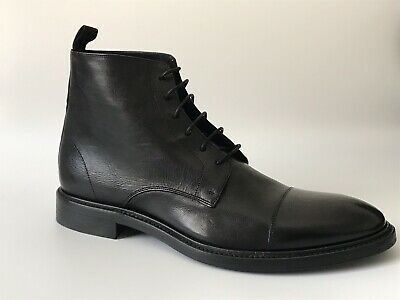 1fa189e10 Paul Smith Men's Dip-Dyed Black Calf Leather 'Jarman' Boots Size 8.5 RRP