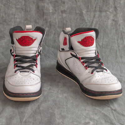 uk availability c5b2e aff45 Nike Air Jordan Sixty Club Mens Basketball Shoes Size 10.5 White 535790-101