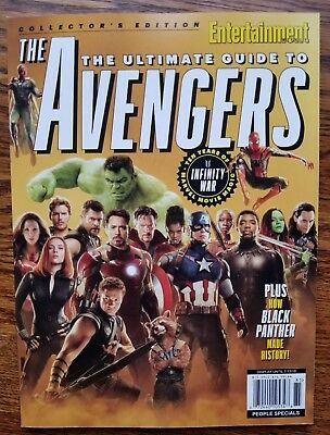 Entertainment COLLECTORS EDITION THE ULTIMATE GUIDE TO THE AVENGERS INFINITY WAR