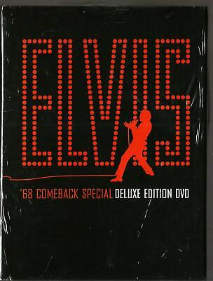 ELVIS - 68 COMEBACK SPECIAL (DVD, 2004, 3-Disc Set) DELUXE EDITION