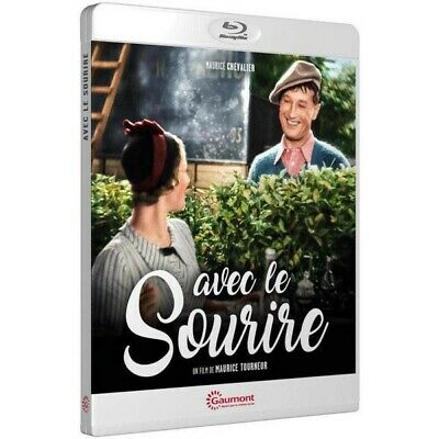 Blu-ray Avec le sourire [Blu-ray] - Maurice Chevalier, Marie Glory, Andre Lefaur