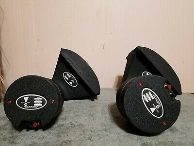 JBL LE100S HF drivers with H5040 angle horns. Excellent condition pair.