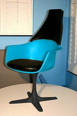 Custom Backrest to upgrade Burke#116 armchair  into to a Star Trek (TOS) chair.
