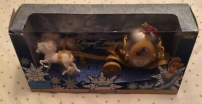 Cinderella Doll Walt Disney Collection Royal Holiday Carriage Horse Mattel 1998