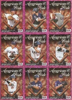 2019 Donruss American Pride Pink Firework Retail Parallel Inserts ***You Pick***