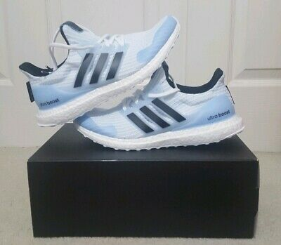 11841d5fe Adidas Ultra Boost 4.0 x Game of Thrones White Walker Men s Size 9.5