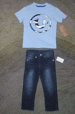 True Religion Boys Outfit (T-Shirt & Jeans) - Size 4 - NWT