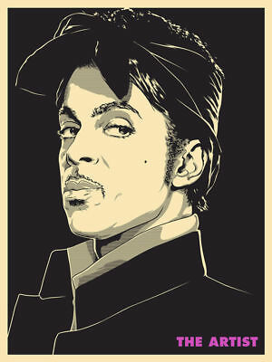 2016 Prince The Artist Concert Poster Ap/75 Joshua Budich Signed Mint