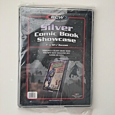 BCW Silver Age Comic Book Showcase Display Case Holder New