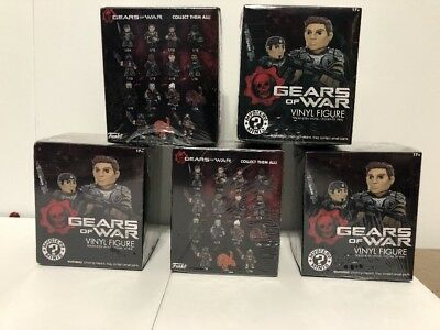 3 PACKS Gears Of War Funko MYSTERY MINIS Blind Boxed Vinyl Figures Official GOW