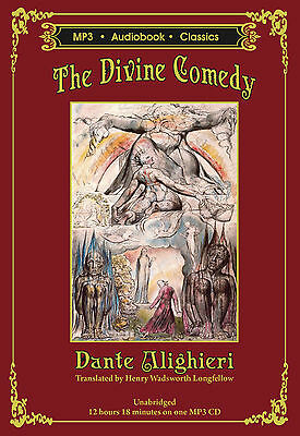 The Divine Comedy - Unabridged MP3 CD Audiobook in DVD case