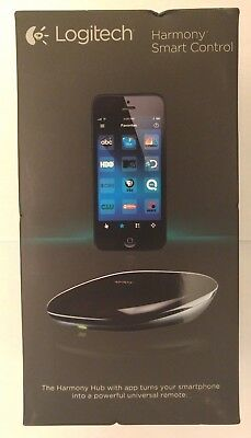 NEW Logitech Harmony Smart Control (Remote Control, App, and Smart Hub), Black