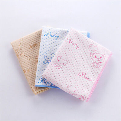 Waterproof Changing Diaper Pad Cotton Washable Infant Baby Urine Mat Nappy Bed