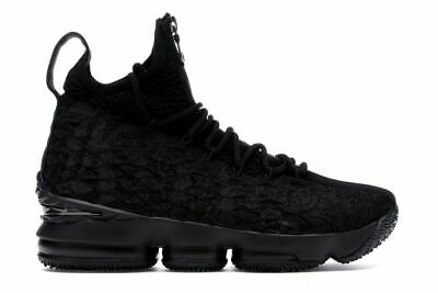 lowest price c2e5f 1a763 NIKE LEBRON 15 XV Performance KITH Suit of Armor Black NEW With Box Size-16