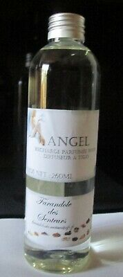 Recharge Solution Parfumee Sans Alcool Pour Diffuseur A Tiges *angel* 260Ml
