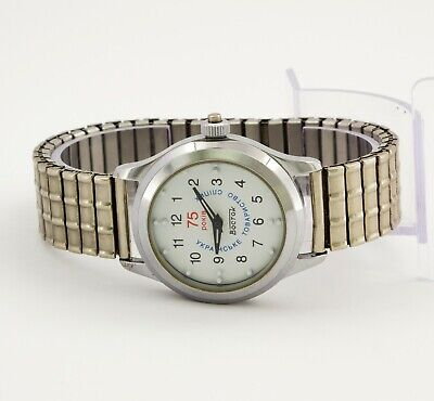 Wostok Vostok 2409 for the blind mechanical Russian unisex wristwatch White dial