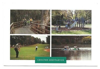 VIC - c2000s POSTCARD - VIEWS OF GREATER SHEPPARTON, VICTORIA