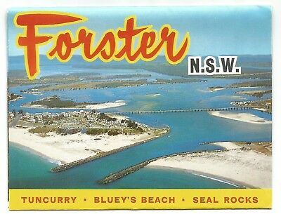 NSW - c1970s VIEW FOLDER - FORSTER, NEW SOUTH WALES