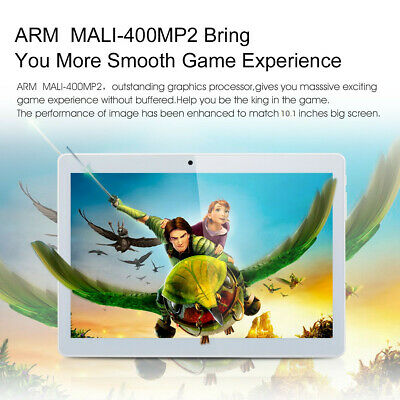 "Excelvan 10.1""1280*800 Android 6.0 4Core 1G+16G WiFi 3G Dual Caméra FM Tablet PC"