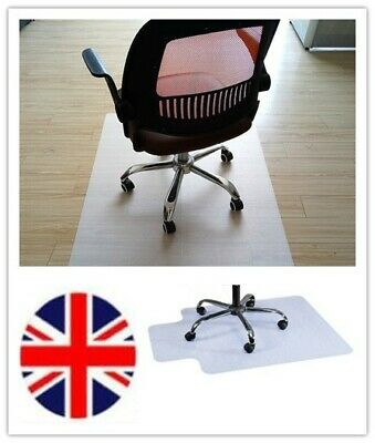 Home Office Heavy Weight Carpet Protector Chair Mat PVC Chairmat Frosted 90X120