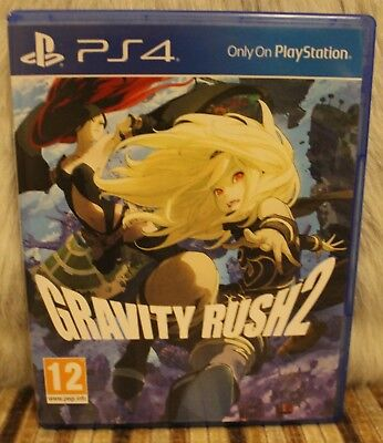 PS4 Gravity Rush 2 Mint New