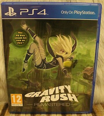 PS4 Gravity Rush Remastered Vita Mint New