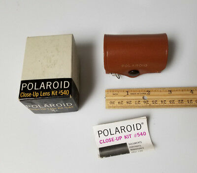 Polaroid lens close up Kit 540 with tape measure built in
